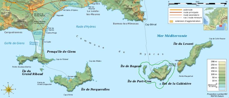 Les Iles d'Or près d'Hyères