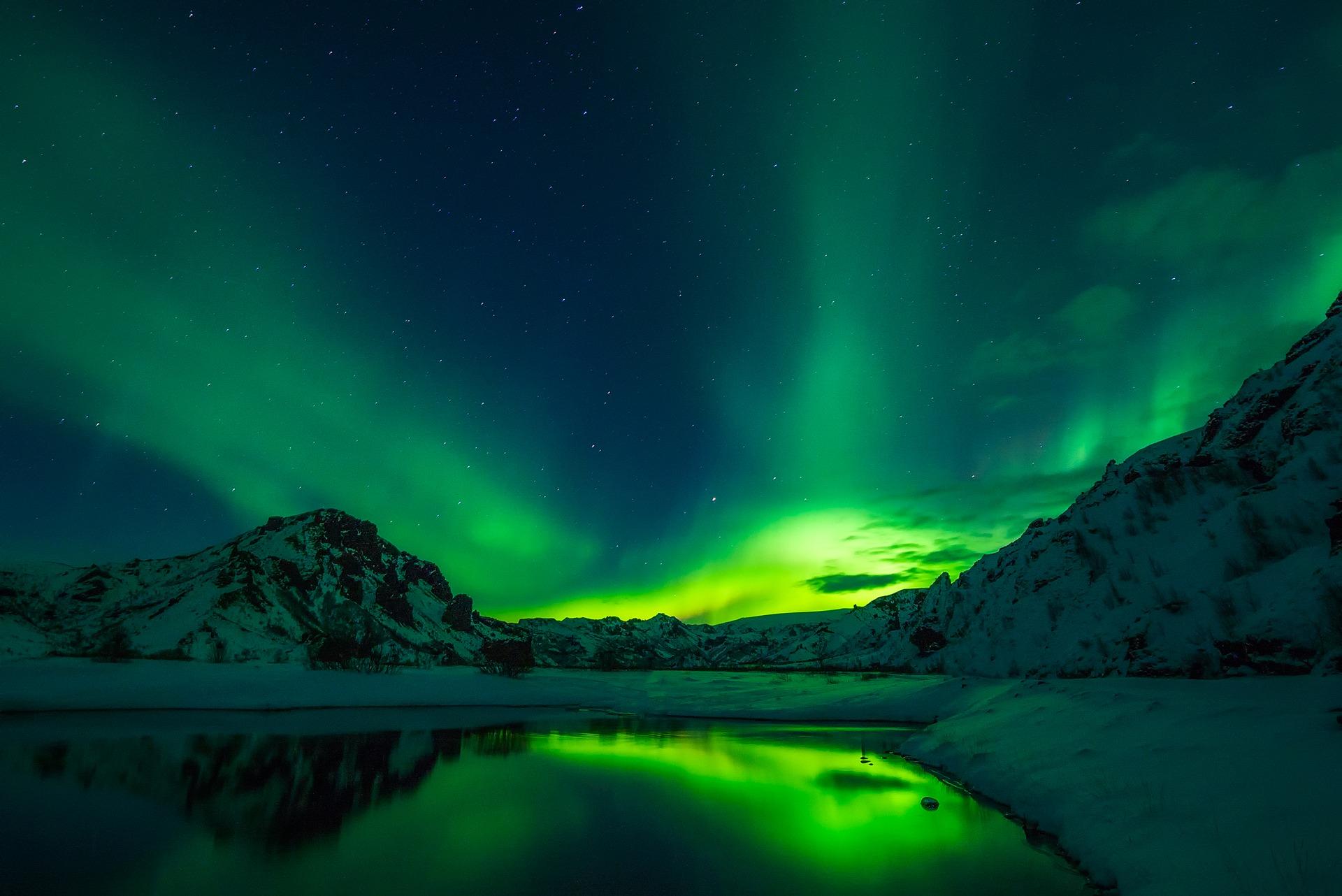 Islande aurores boréales