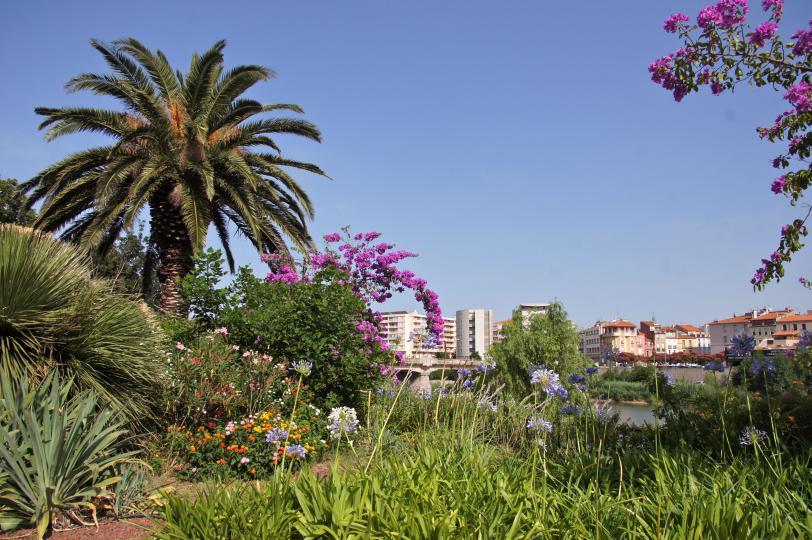 Jardin exotique de la digue d'Orry à Perpignan