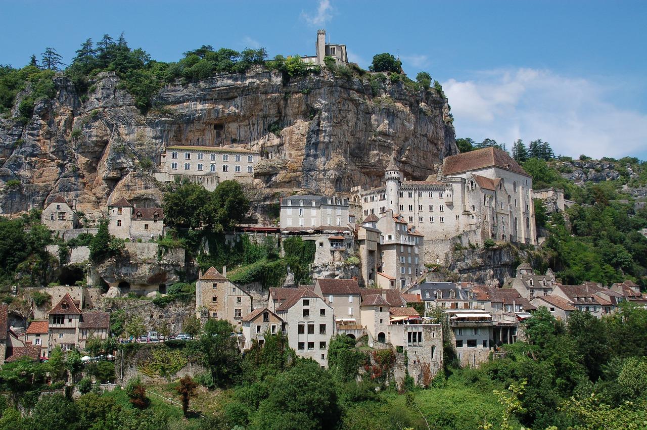 Rocamadour village dans le Lot